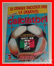 ALBUM CALCIATORI PANINI 1967/68 SERIE A ristampa dell'Unità