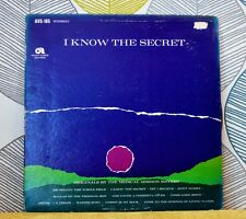 Medical Mission Sisters-Je sais LE SECRET [Vinyl LP, 1966] USA imp AVS 105 * EXC