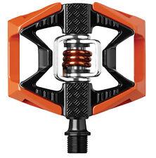 Crank Brothers Double Shot MTB Mountain Bike Platform Pedals Orange/Black