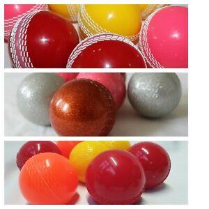 6 x Cricket Windball Practice wind balls Hollow Pet Ball sports air sparkling