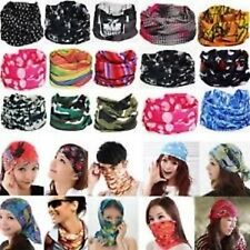 10 pc Bandana Bikers Motorcycle Riding Neck Face Mask Protection Tube Head Bands