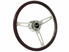 1970 - 1987 Plymouth S6 Espresso Wood Steering Wheel Kit   Standard Columns