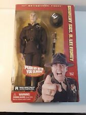 R. Lee Ermey Gunnery Sgt. Military Action Figure Signed 9-26-2002