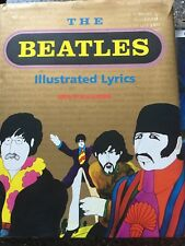 THE BEATLES - ILLUSTRATED LYRICS  ... very good condition