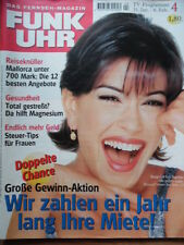 FUNK UHR 4 - 1998 ** TV: 31.1.-6.2. Bond-Girl Teri Hatcher Gedeon Burkhard