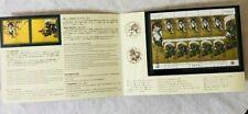 Japan Stamp Philatelic Week 2018 Stamp Booklet MNH OG VF factory - sealed