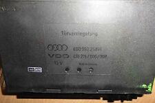 Audi A6 4B Türverriegelung Steuergerät Zentralverriegelung 4B0962258H VDO