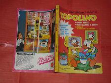 WALT DISNEY- TOPOLINO libretto- n° 1302 a - originale mondadori- anni 60/80