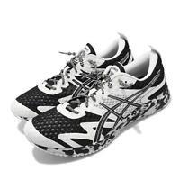 Asics Gel-Noosa Tri 12 Triathlon Black White Men Running Shoes 1011A673-002