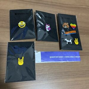 WWDC 2017/2018 8 pins!!! Apple World Wide Developer Conference for iPhone Apps