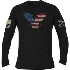 Grunt Style Freagle Long Sleeve T-Shirt - Black