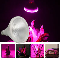 12W LED Grow Light Panel Bulb Lamp For Hydroponic Full Spectrum Growing Plant US
