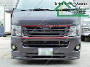 Narrow-Body Carbon Fiber Vent Grille k For Toyota Hiace 200 Series 3 Type 10-13