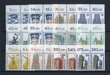 BERLIN 12 WERTE SWK ex 10-350Pfg. ** OBERRAND-PAARE ME 70,-++ (119539)