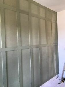 Wall Panelling kits 1.2mw x up to 2.4h & made to fit all sizes MEDITE MR MDF