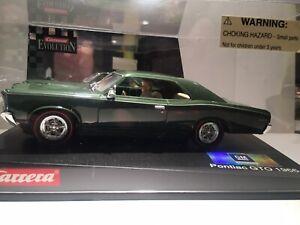 Carrera Evolution 1/32 Pontiac GTO 1966 Slot Car, Green, New In Original Display
