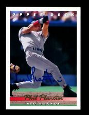 Phil Plantier Autograph Signed 1993 Upper Deck Boston Red Sox