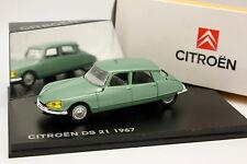 Eligor 1/43 - Citroen DS 21 1967 Verte