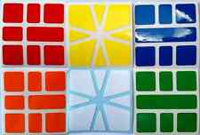 Magic Cube Stickers Square 1 Set for ShengShou, MF-8 , QiYi e Cubetwist