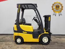 2012 Yale Glp030Vx 3000Lb Pneumatic Forklift Lpg Lift Truck Hi Lo 62/83