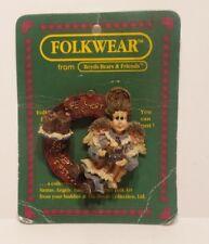 Boyds Bears FolkWear Auntie Coca Life is Short Eat Desert First Pin #26421