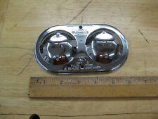 Chrome Master Cylinder Cover Steel Chevy Pontiac 3x 5 34 Dual Bail Gm 70 80