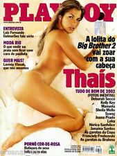 PLAYBOY MAGAZINE BRAZIL # 330 - THAIS VENTURA - JAN 2003 - VG / EXC CONDITION