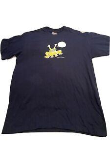 DS NEW Supreme Daniel Johnston I Know Tee T-Shirt M MEDIUM Navy
