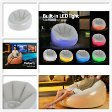 20 off Further With Pspr20 Bestway Inflatable Seat Sofa LED Light Chair Outdoor
