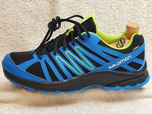 Salomon Speedcross 4 Gore-Tex Trail trainers NEW Black/Blue UK 8/9 EUR 42/43 1/3