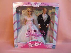 1993 Wedding Fantasy Special Limited Edition Barbie & Ken Doll (10924) - NRFB