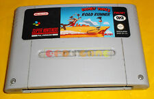 LOONEY TUNES ROAD RUNNER Super Nintendo SNES PAL Italiano ○○○○○ SOLO CARTUCCIA