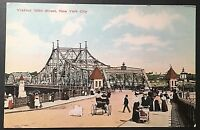 Viaduct 155th St. Nrw York Vintage Postcard E107