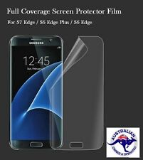 3D Screen Protector Film For Samsung Galaxy S6 S7 EDGE S8Plus Not Tempered Glas