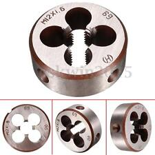 37mm Outside Dia M12 Metric Screw Thread Round Tap Die M12x1.5 Pitch Hand Tool