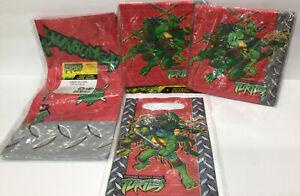Teenage Mutant Ninja Turtles Party Set Vintage Napkins Table Cover Party Bags
