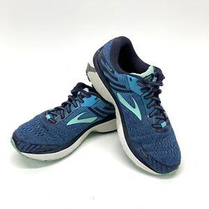 Brooks Adrenaline GTS 18 Womens 1202681B495 Running Shoes Size 7.5 Blue