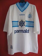 Maillot Olympique de Marseille Adidas Parmalat OM Shirt 1997 Vintage - XL