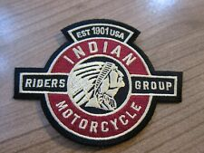 Indian Motorcycles Patch Aufnäher IMRG Riders Group *Sonderpatch*  NEU!