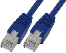 LEAD CAT5E SFTP PATCH BLUE 0.5M Cable Assemblies Network Cables
