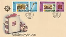JERSEY 19 APRIL 1983 GOVERNMENT & LAW FIRST DAY COVER JERSEY SHS