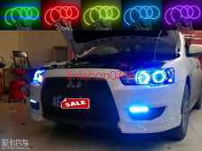 4x RGB Multi-Color Angel Eyes kit For Mitsubishi Lancer 2008-2015 non projector