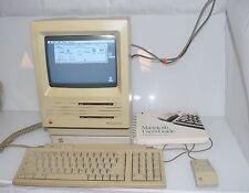 Vintage Apple Macintosh SE M5011 20MB EXTERNAL HDD+ Bag + Keyboard + MOUSE OS 6