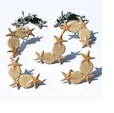 Brads - Seashore corners beach shell star fish - pk of 4 - scrapbooking