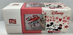 Duvet Quilt Cover Bedding Set Disney Mickey Minnie Mouse Twin Queen Full NEW 21K