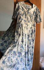 BNWT Laura Ashley Vintage Floral Full Circle Tea Dress Size 16