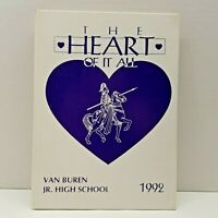 VTG Van Buren Jr High Knights 1992 Yearbook Kettering Ohio Middle School Signed