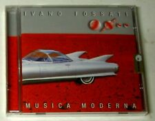 Ivano Fossati – Musica Moderna - CD Jewelbox Sigillato