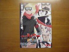 NARUTO THE LAST MOVIE FLYER mini poster chirashi ver.2 Japanese