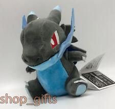 "Pokemon Mega Charizard X Plush Soft Toy Doll Stuffed Animal Teddy 6.5"""